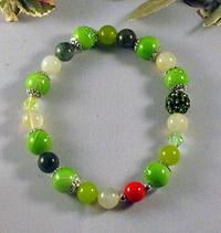 Armband - Glas och sten
